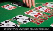 Situs Poker77 yang menyediakan permainan Poker Online